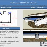 Perfil Estrutural PC5550 - Desenho