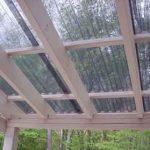 Telha ondulada cristal - casa do policarbonato