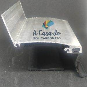 Perfil Rufo em Aluminio 90x30mm