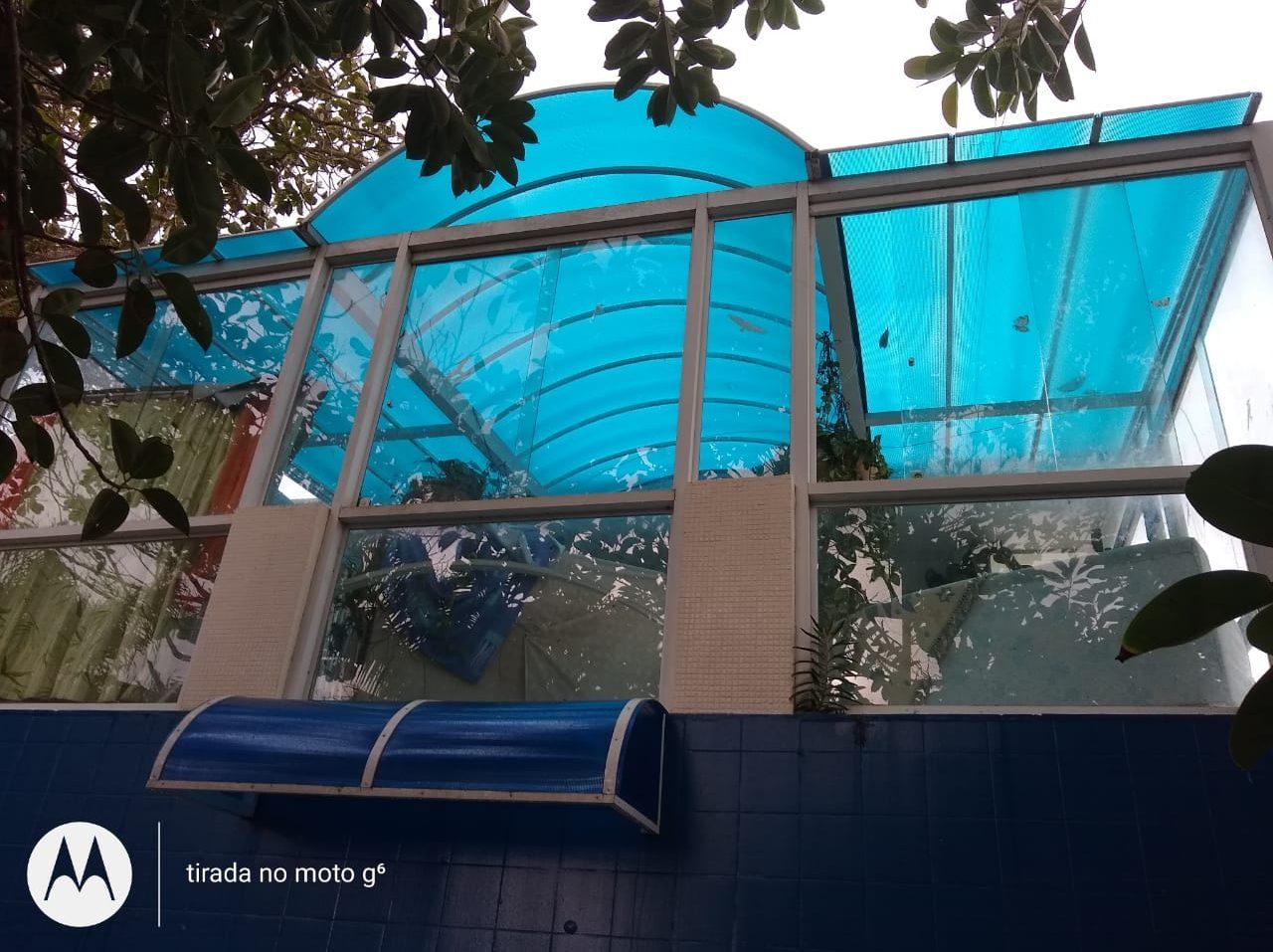 Multi Painel azul A Casa do Policarbonato